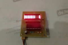 Led S.Meter Red