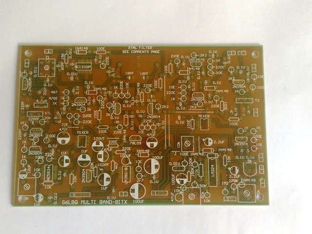 Bitx Multiband, Exciter, Board
