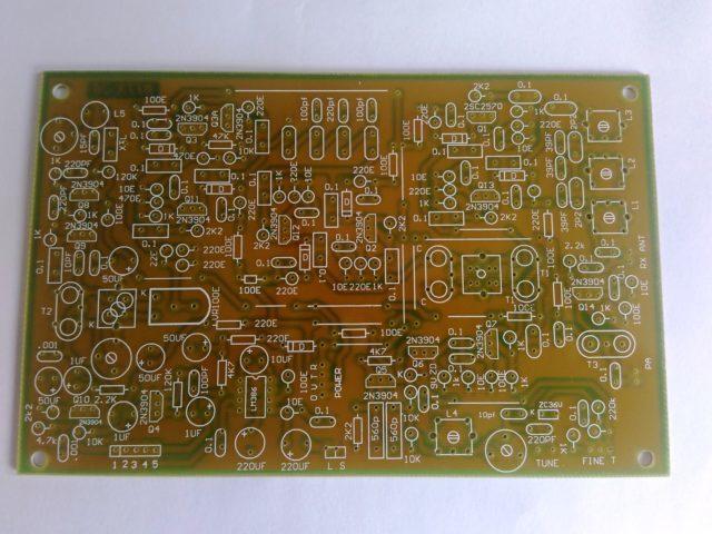Bitx Version 3, Exciter Board