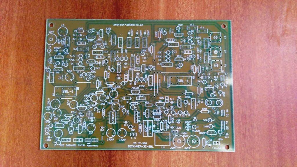Bitx3C-20mt-SBL-1-Exciter-PCB