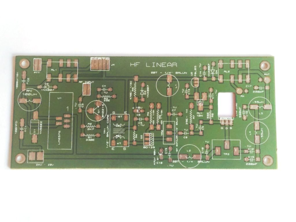 HF Amplifer 25 watts